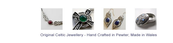 Hand Crafted Welsh Celtic Jewellery