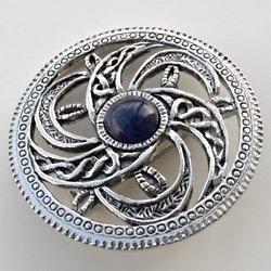 Jm Crafts Celtic Jewellery Gt Celtic Brooches Gt Spiral Brooch