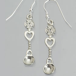 Lovespoon Earrings